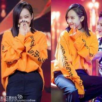 เสื้อทีเชิ้ต คอกลม แขนยาว ทันสมัย แบบคู่รัก สไตล์เกาหลี