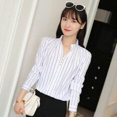 ราคา แฟชั่นเสื้อใหม่แขนยาวหญิง สีขาว ออนไลน์ ฮ่องกง