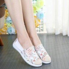 ทบทวน เกาหลีหญิงชาวประมงรองเท้าป่ารองเท้าผ้าใบ นกสีแดง Unbranded Generic