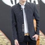 ซื้อ ชุดจงซาน ผู้ชาย Jickbofei เสื้อคลุม สีเทาเข้ม สีเทาเข้ม Unbranded Generic เป็นต้นฉบับ