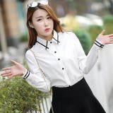 ราคา เสื้อเซิ้ต แขนยาว สีขาว ผู้หญิง สไตล์เกาหลี ชิ้นเดียวเสื้อ ชิ้นเดียวเสื้อ Unbranded Generic เป็นต้นฉบับ