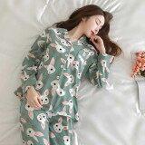 ทบทวน ที่สุด ชุดนอน ชุดนอนน่ารัก ชุดนอนลายกระต่าย แขนยาวขายาว