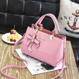 ราคา กระเป๋าถือสะพายข้างผู้หญิง เรียบหรู สไตล์เกาหลี ชานเฟยกระเป๋าถือสีชมพู ชานเฟยกระเป๋าถือสีชมพู ใหม่