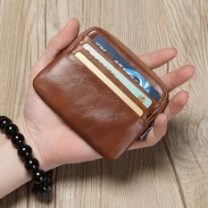 ซื้อ กระเป๋าสตางค์ สีดำ ไซส์มินิของผู้ชาย สีน้ำตาลย้อนยุค สีน้ำตาลย้อนยุค