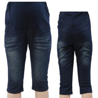 กางเกงยีนคนท้องสไตล์เกาหลี (เช่นมะเดื่อ) (เช่นมะเดื่อ)