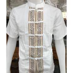 ซื้อ เสื้อผ้าเมือง คอจีน กระดุมจีน เดินเชือก สี แขนสั้น Whan Huen Fai ออนไลน์