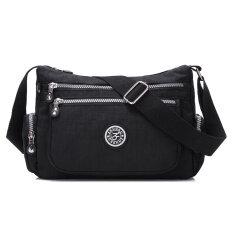 ผู้หญิงกระเป๋าใหม่ถุงไนลอนกันน้ำ สีดำ เป็นต้นฉบับ