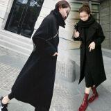 ราคา เสื้อเวอร์ชั่นเกาหลีบวกฝ้ายของฤดูการขาย สีดำ ถูก