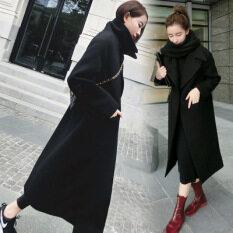 ซื้อ เสื้อเวอร์ชั่นเกาหลีบวกฝ้ายของฤดูการขาย สีดำ ถูก