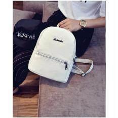 ขาย ซื้อ Product กระเป๋าสะพายหลัง กระเป๋าเป้ กระเป๋าแฟชั่นผู้หญิง White