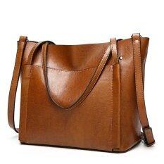 ขาย Promotion Of 17 New Handbag Fashion Bag Laptop Messenger Bag Shoulder Bag Handbag Black All Brown Intl