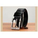 Q Shop Genuine Leather Cattle Belt Needle Buckle Belt For Men Size 120Cm 47 Inch Black Intl Unbranded Generic ถูก ใน จีน
