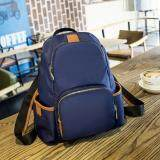 โปรโมชั่น กระเป๋าเป้สะพายหลังQc สีน้ำเงิน ถูก