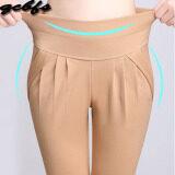 ขาย Mm เสื้อผ้าแฟชั่น กางเกงลำลองหญิงยืดกางเกงหลวมบาง สีกากีแสง Unbranded Generic เป็นต้นฉบับ