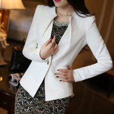 ขาย Qizhef ผู้หญิงเล็กๆน้อยๆชุด สั้นแขนยาวผู้หญิงสีขาว สนามบินนานาชาติ ออนไลน์ ใน จีน