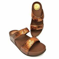 Quick Step รองเท้าแฟชั่นเพื่อสุขภาพรุ่นทูสแท็พไชนี่ สีน้ำตาล ถูก