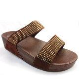 ราคา Quick Step รองเท้าเพื่อสุขภาพเท้า รุ่นสองสายคาดหน้า สีน้ำตาล ออนไลน์ ไทย
