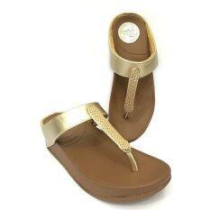 ทบทวน Quick Stepรองเท้าแฟชั่นเพื่อสุขภาพ รุ่นตัวทีทองแดง สีทอง Quick Step