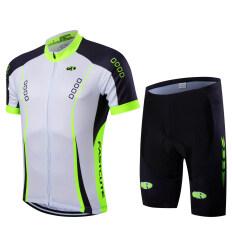 ความคิดเห็น ร้อนแห้งแบบ 2559 Fastcute แบรนด์เสื้อแขนสั้น และกางเกงขาสั้นใส่เสื้อขี่จักรยานให้หายใจหายคอ Bycicle Fc 0127