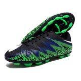 ซื้อ รองเท้าฟุตบอล Hara Sports รุ่น F90 สีดำ น้ำเงิน เขียว ออนไลน์