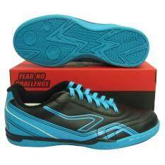 ราคา รองเท้ากีฬา รองเท้าฟุตซอล Breaker Bk 111 ดำน้ำเงิน Breaker เป็นต้นฉบับ