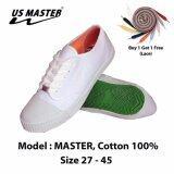 ราคา รองเท้าผ้าใบ รองเท้านักเรียน มาสเตอร์ รุ่น Master Unbranded Generic ออนไลน์
