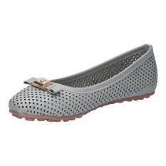 โปรโมชั่น รองเท้าผู้หญิง แฟชั่น รุ่น F59183 Gry Unbranded Generic