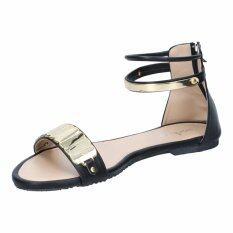 ราคา รองเท้าผู้หญิง แฟชั่น รุ่น Sb07105 Blk Unbranded Generic