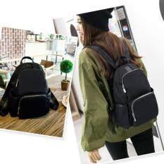 Rayfan กระเป๋าผู้หญิง สไตล์ญี่ปุ่น สามารถใส่โน๊ตบุคได้ 12 สีดำ เป็นต้นฉบับ