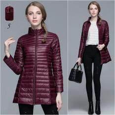 โปรโมชั่น Ready4Girl Ultra Light Down เสื้อโค้ทกันหนาวขนเป็ดตัวยาว พร้อมถุงเก็บ No 5 Ready4Girl ใหม่ล่าสุด