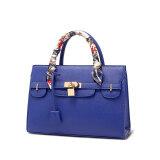 ขาย Realer Pu Leather Shoulder Bag Cross Leather Handbags Women Messenger Bag Blue Unbranded Generic ใน จีน