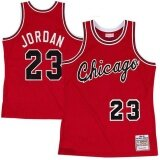 ซื้อ Red Micheal Jorden Rookie 1984 1985 23 Swingman Player Hardwood Classics Chicago Bulls Official Breathable Outdoor Set High Quality *d*lt Team Color Size X Large Intl Unbranded Generic ถูก