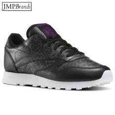 ขาย รองเท้าผู้หญิง Reebok รุ่น Bd3379 Reebok Reebok Cl Lthr A Print รองเท้ากีฬา ผ้าใบ สำหรับวิ่ง รุ่นคลาสสิค สีดำ ไทย ถูก