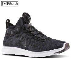 โปรโมชั่น รองเท้าผู้ชาย Reebok รีบอค Bd4935 Reebok Pump Plus Camo รองเท้าวิ่ง รองเท้ากีฬาผ้าใบ สีดำ ไทย