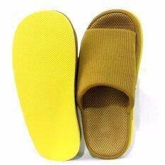 ราคา Refre Okumura Slippers รองเท้านวดเพื่อสุขภาพ สีเหลืองเข้มเข้ม Size L 40 44 Ome ออนไลน์