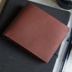 ส่วนลด Reith Signature Wallet Brown กระเป๋าสตางค์ผู้ชาย หนังแท้ Reith กรุงเทพมหานคร