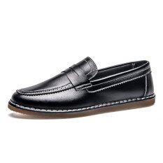 ราคา Retro Men Dress Shoes Vintage Formal Brogue Pointed Toe Wedding Shoes Carved Penny Loafer Oxfords Intl เป็นต้นฉบับ