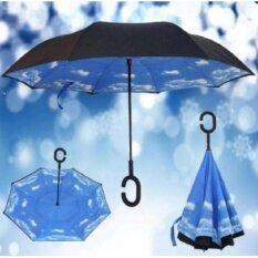 ขาย Reverse Umbrella ร่มหุบกลับด้านมือจับตัว C Umbrella เป็นต้นฉบับ