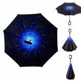 ซื้อ Reverse Umbrella ร่มหุบกลับด้านมือจับตัว C ลายท้องฟ้ากลางคืน ออนไลน์ กรุงเทพมหานคร