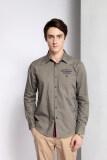โปรโมชั่น Rf 23 Casual Cotton Long Sleeve Shirts Green Intl จีน