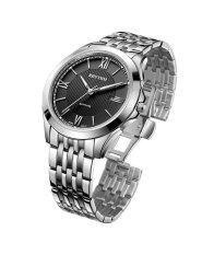 ส่วนลด Rhythm นาฬิกาข้อมือ รุ่น P1205S02 Silver Black