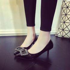 ทบทวน Richcoco High Heels S*xy Shoes Ol สีดำ Richcoco