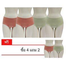 ราคา Rika กางเกงในเต็มตัว 4 ตัวแถม 2 ตัว Fv2S01 ถูก