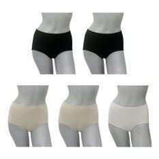 ราคา Rika แพค 5 ตัว กางเกงในเต็มตัว Xl Xxl Fv2003 แพ็ค 5 ตัว คละสี ใน ไทย