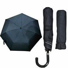 ซื้อ ร่มพับ 4 ตอน พร้อมปกป้อง Uv สีดำ Mini 4 Folding Umbrella With Case
