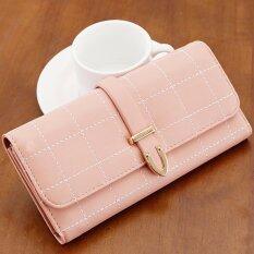 ขาย Rn Bags กระเป๋าเงินผู้หญิง กระเป๋าสตางค์ ใบยาว กระเป๋าสตางค์ตามวันเกิด รุ่น Rw 030 สีชมพู ถูก