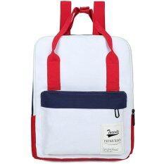 ขาย Rocklife กระเป๋า กระเป๋าเป้ กระเป๋าเป้สะพายหลัง No R1103 White ใน สมุทรปราการ