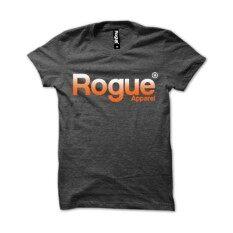 ซื้อ Rogue เสื้อยืดแขนสั้นผู้ชายสีเทาดำ Mst 09 ใหม่ล่าสุด