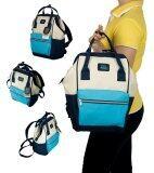 ราคา Romar Polo กระเป๋า กระเป๋าเป้ กระเป๋าสะพายหลัง Backpack 14 นิ้ว รุ่น 69414 Tricolur Sky Blue ไทย