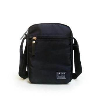 Ron Homme กระเป๋าสะพาย รุ่น Small Item Bag6x8นิ้ว (Black)
